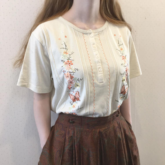 used embroidery TS