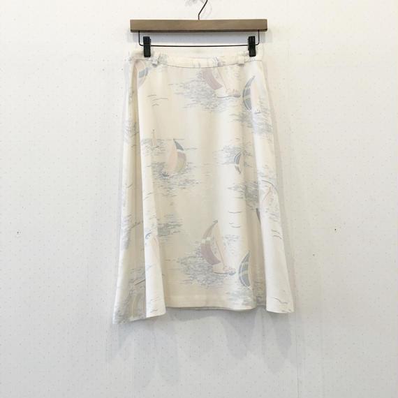 used 80s skirt