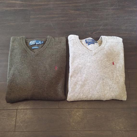 used Polo sweater