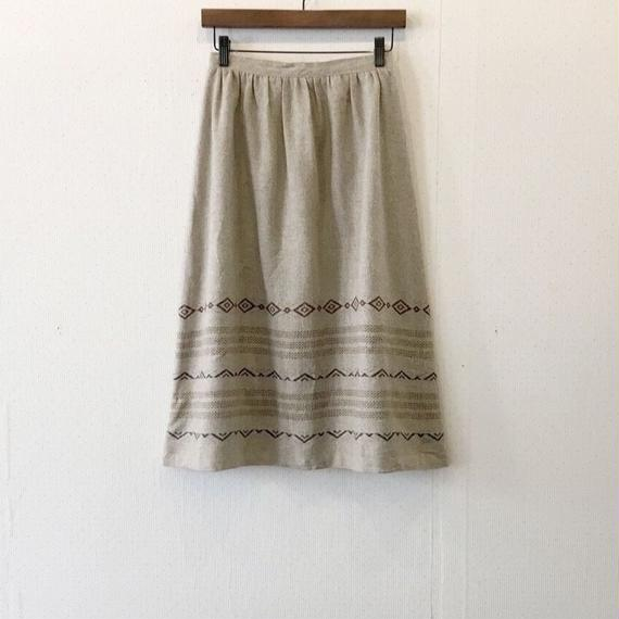 used embroidery skirt
