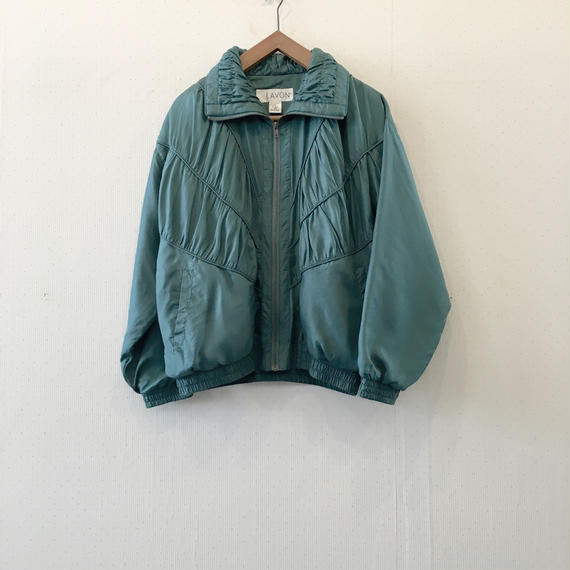used silk blouson