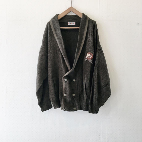 used wappen cardigan