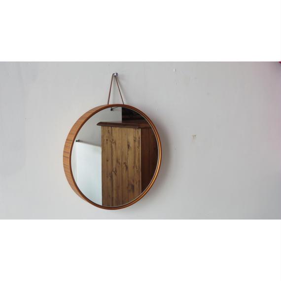 SAITO WOOD   mirror  チーク (grain)