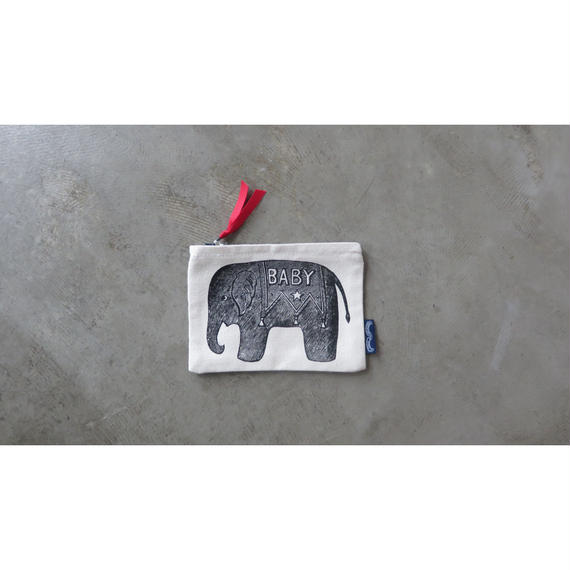 Chase and Wonder BABY ELEPHANT PURSE ミニポーチ