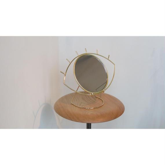 """Cyclops Table Mirror """"Gold サイクロプステーブルミラー""""ゴールド"""""""