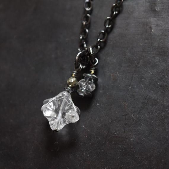 """クリスタル ソロモン ネックレス""""CRYSTAL solomon necklace"""""""