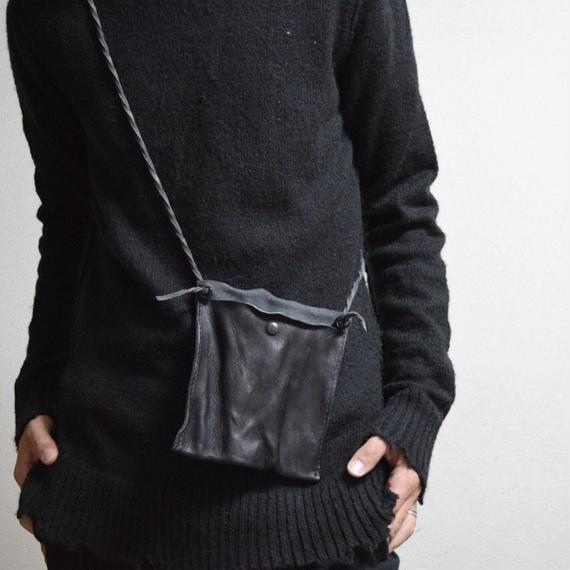 """ステアレザー ガジェット ミニサコッシュ""""steer  leather gadget  mini  sacoche """""""