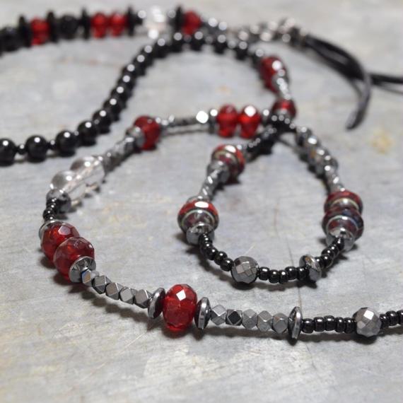 """アルクスエクストララップブレス(ブラッド)""""ARCUS  extra wrap bracelet (blood)"""""""