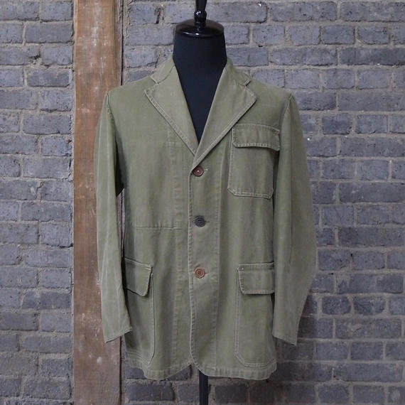 1940-1950's french military  cotton work jacket