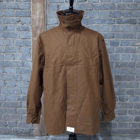 """cir. 1950's dead stock french railroader's jacket """"cotton duck"""""""