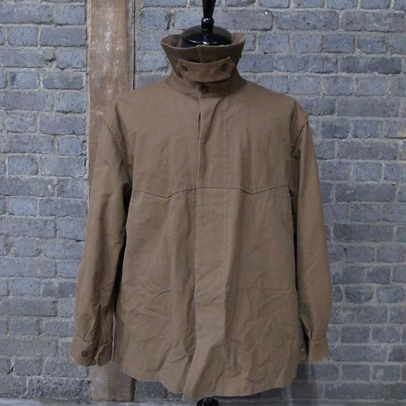 "cir. 1950's french railroader's  jacket ""cotton duck"""