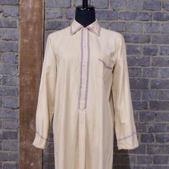 mid 20th c.  german  cotton long shirt