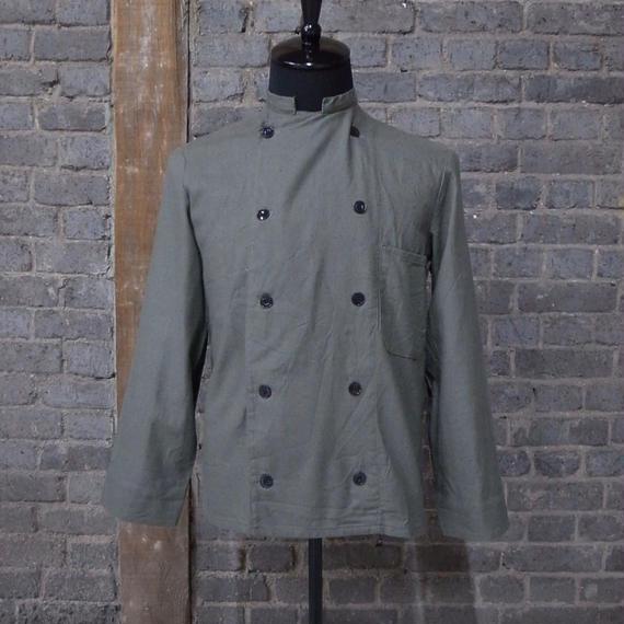 vintage  german linen cotton work jacket