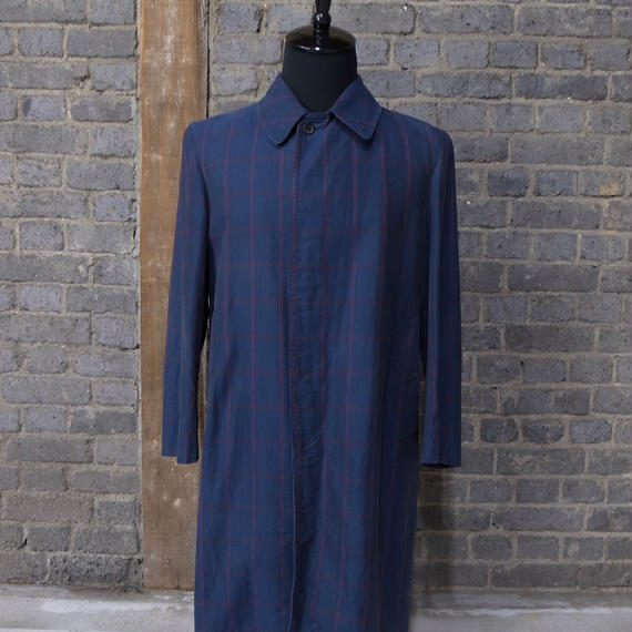 VINTAGE BURBERRY CAR COAT - MADE IN ENGLAND 100% SILK-