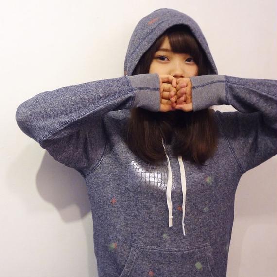 ミラーボール パーカー mirrorball hoodie ヘザーネイビー Heather Navy