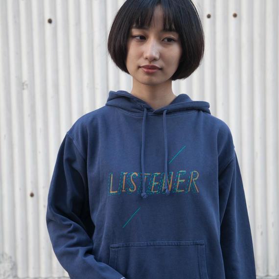 【予約受付12/24迄】リスナーパーカー ヴィンテージネイビー UNISEX S〜XL