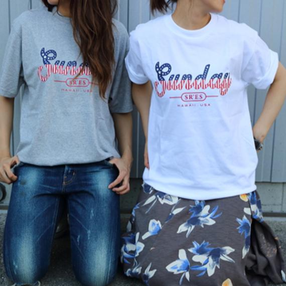 《メンズ》いつでもsunday Tシャツ【ホワイト】