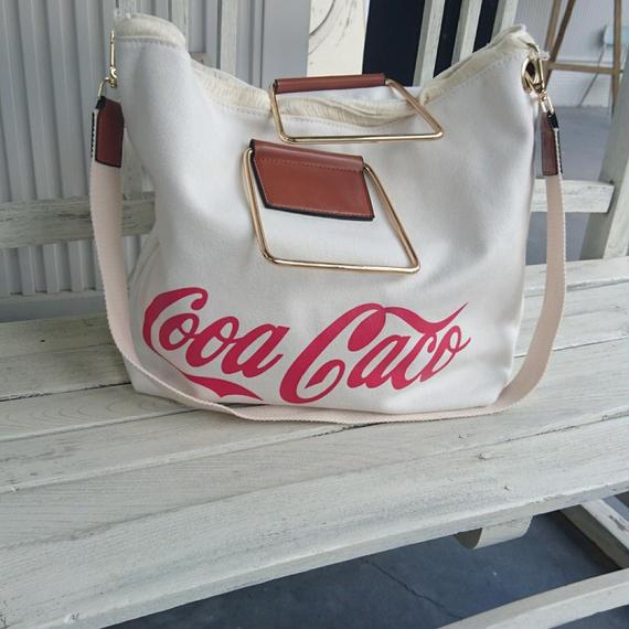 コキャコーラ キャンバス 2wayバッグ