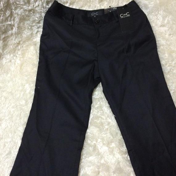 クードシャンス黒パンツ 定価17,000円70%OFF→最終セール80%OFF
