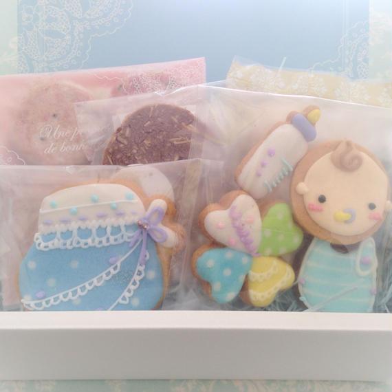 【B-7】名入れ、メッセージ無料★ベビー焼き菓子ギフトS
