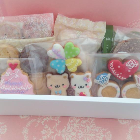 【A-5】名入れ、メッセージ無料★ウェディング焼き菓子ギフトM