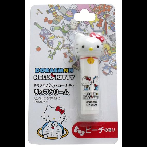 ハローキティ リップクリーム ピーチの香り 4.5g