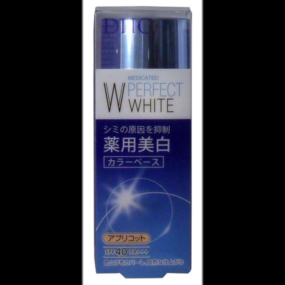 DHC 薬用美白パーフェクトホワイト カラーベース アプリコット 30g