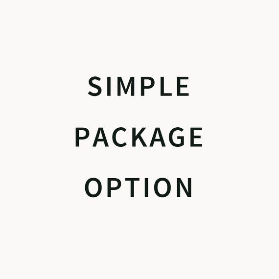 SIMPLE PACKAGE OPTION