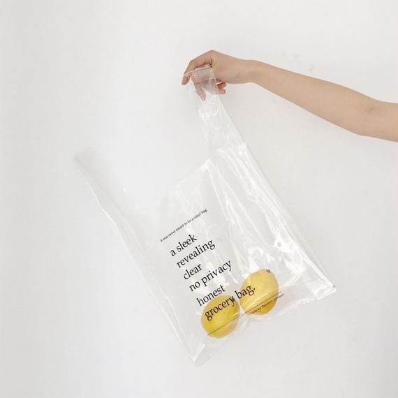 massage clear bag
