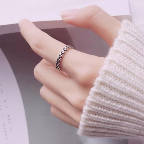ring 4mm silver925