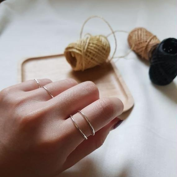 ring 3pc silver925