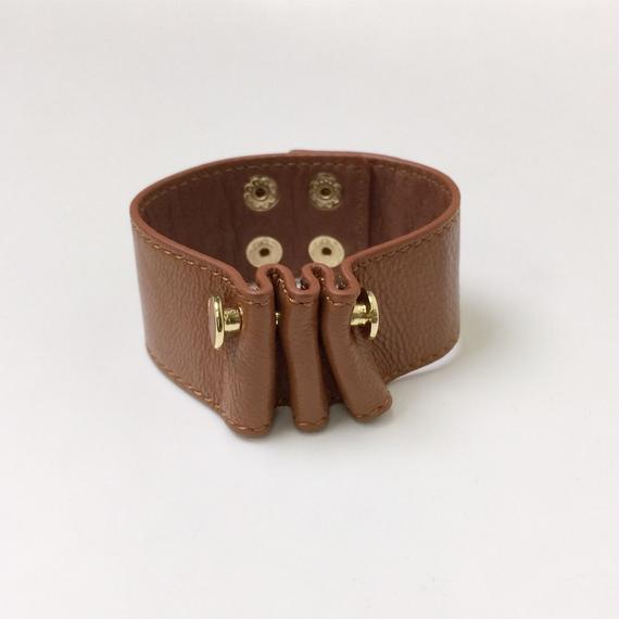 Leather Bangle 2col