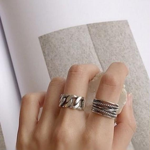 ring silver925  2col