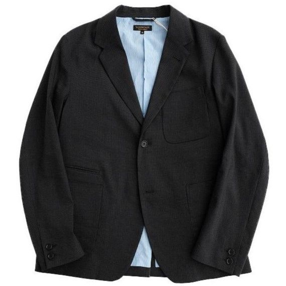 *A VONTADE(アボンタージ)  Lounge Jacket    CHARCOAL H,TOOTH