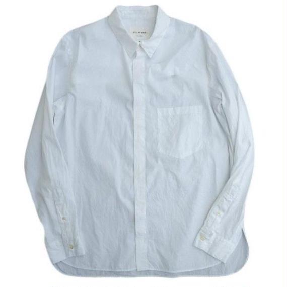 STILL BY HAND(スティルバイハンド)   オリジナルブロードシャツ  WHITE