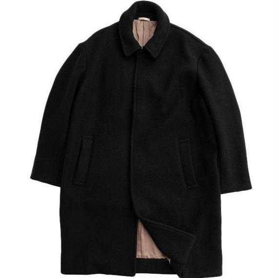 LAMOND(ラモンド)   W.FACE PILE WOOL OVER COAT   BLACK