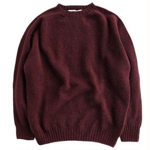 JENNIFER KENT(ジェニファーケント)   シェットランドセーター  BORDEAUX