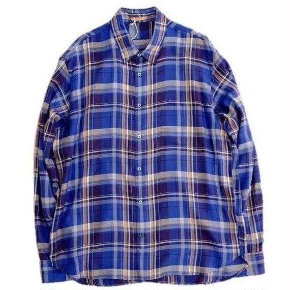 LA MOND(ラモンド)   テンセルチェックシャツ