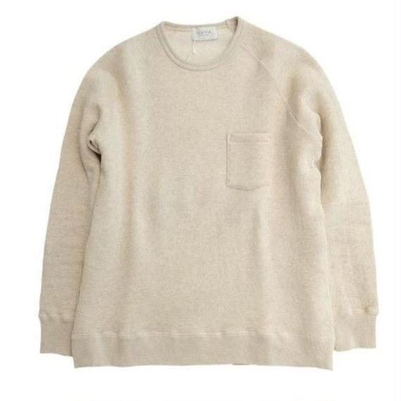 FLISTFIA(フリストフィア)   Crew Neck Sweat  OATMEAL