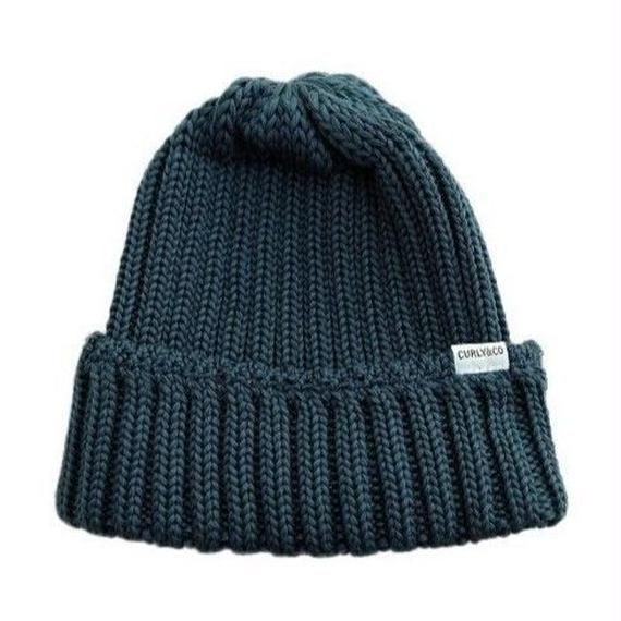 CURLY(カーリー)   CLOUDY KNIT CAP  INK BLUE