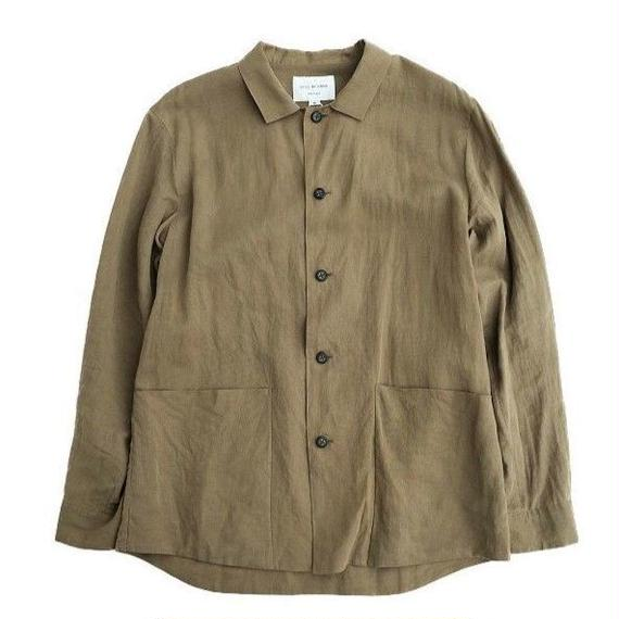 STILLBYHAND(スティルバイハンド)  無双仕立てシャツジャケット   OLIVE