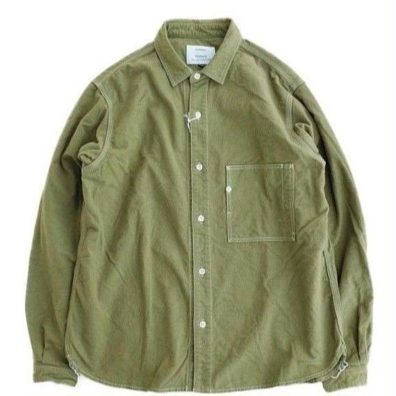 another20thcentury(アナザートゥエンティースセンチュリー)  Art Work Ⅱ Flannel Overdye  LOVE OLIVE