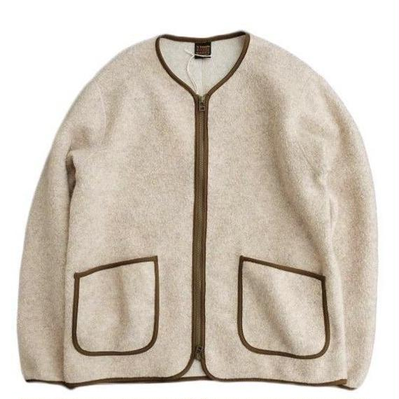 *A VONTADE(アボンタージ)   Wool Pile Zip Cardigan