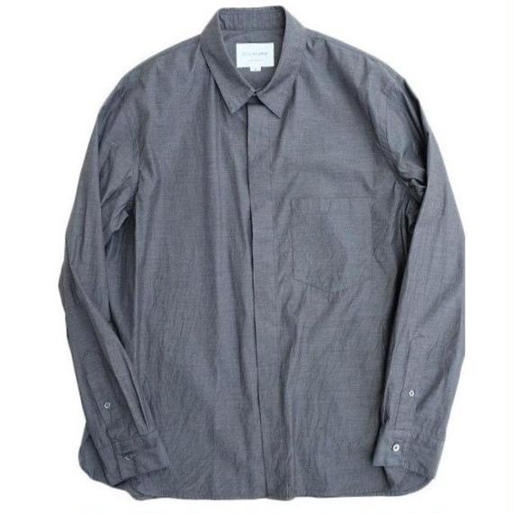 STILL BY HAND(スティルバイハンド)   オリジナルブロードシャツ  CHARCOAL