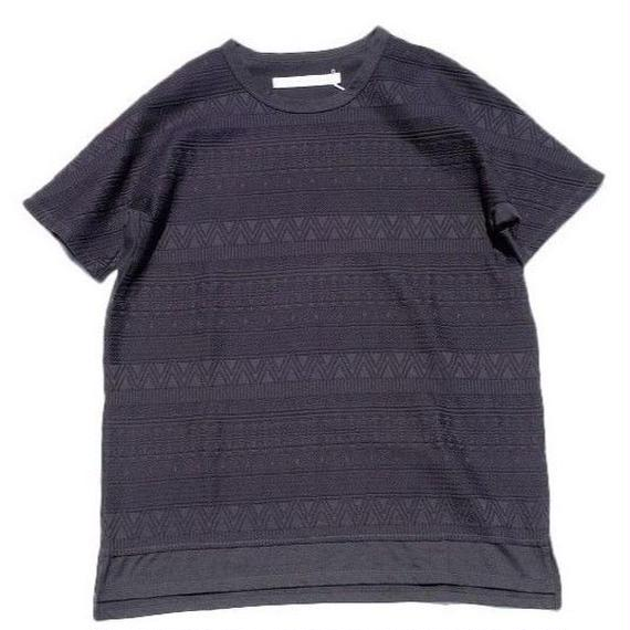 CURLY(カーリー)   AZTEC JAQ DS TEE  BLACK