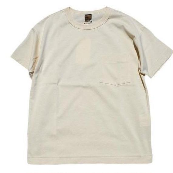 *A VONTADE(アボンタージ)   6.5oz Silket Pocket T-shits LooseFit  ivory