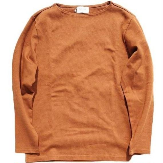 FLISTFIA(フリストフィア)   Long Sleeve Basque T-Shirts  CAMEL