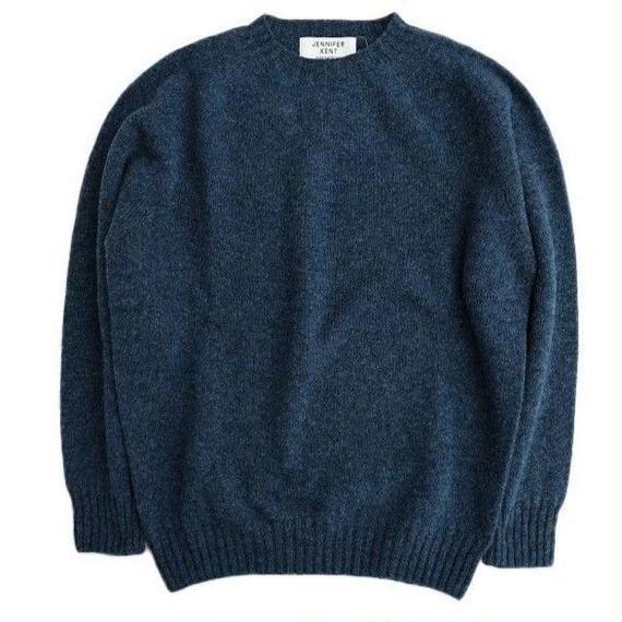JENNIFER KENT(ジェニファーケント)   シェットランドセーター  NAVY