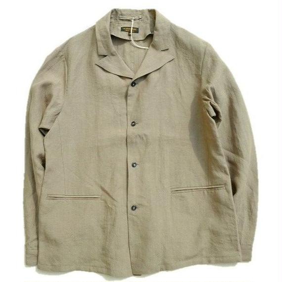 *A VONTADE(アボンタージ)   Peaked Shirt Jacket    OLIVE