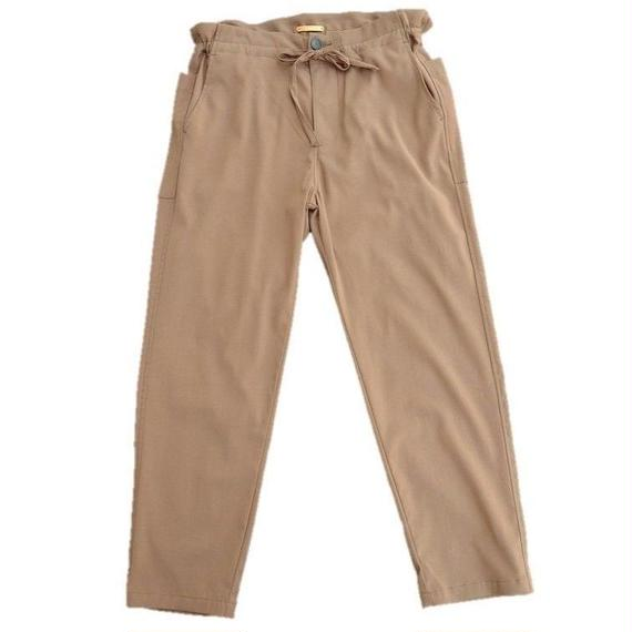 LA MOND(ラモンド)   FRENCH RELAX PANTS   KHAKI